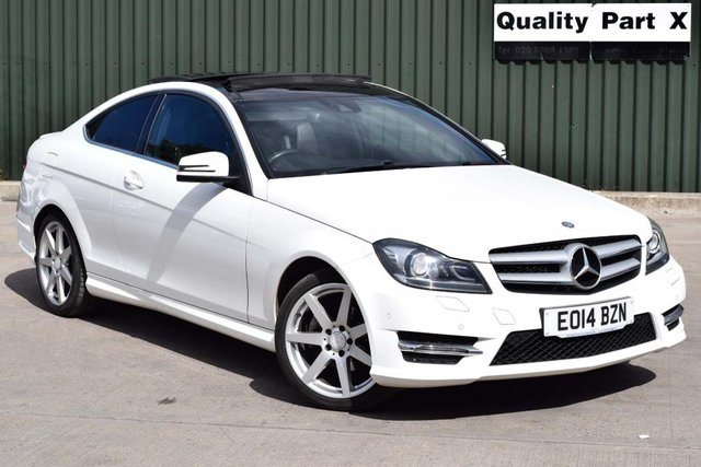 USED 2014 14 MERCEDES-BENZ C-CLASS 1.6 C180 AMG Sport Edition (Premium Plus) 7G-Tronic Plus 2dr CALL FOR NO CONTACT DELIVERY