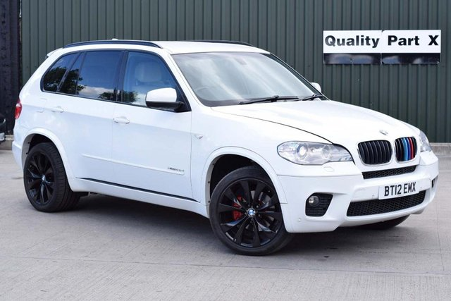USED 2012 12 BMW X5 3.0 30d M Sport xDrive (s/s) 5dr CALL FOR NO CONTACT DELIVERY
