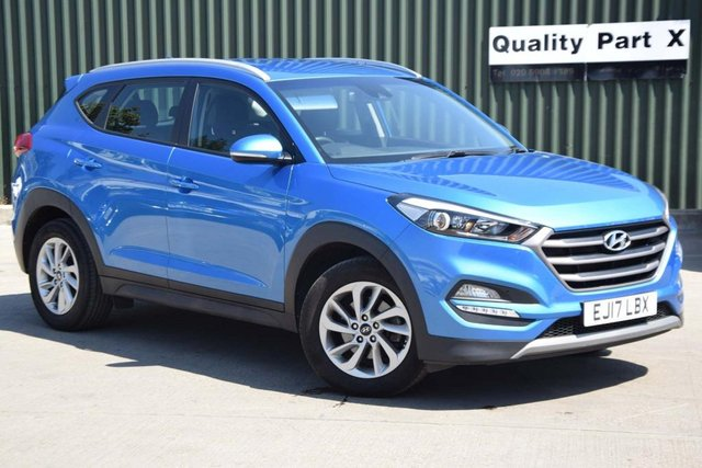 USED 2017 17 HYUNDAI TUCSON 1.7 CRDi Blue Drive SE DCT (s/s) 5dr CALL FOR NO CONTACT DELIVERY