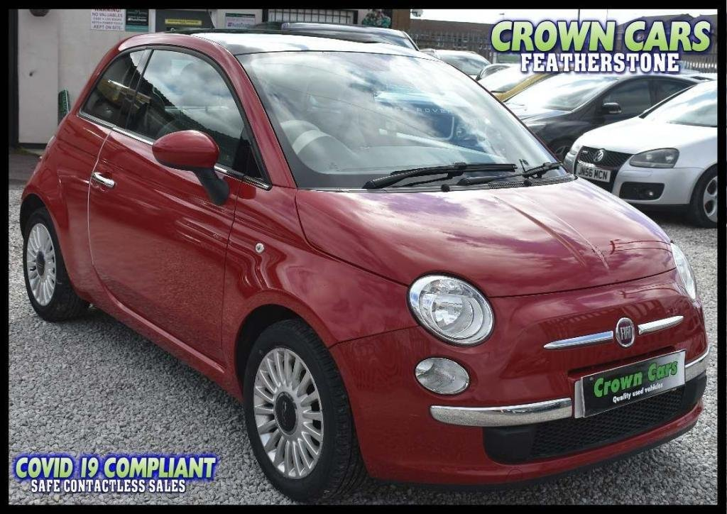 USED 2012 12 FIAT 500 1.2 Lounge (s/s) 3dr AMAZING LOW RATE FINANCE DEALS