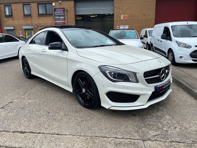 2013 63 MERCEDES-BENZ CLA 2.1 CLA220 CDI AMG SPORT 4d 170 BHP PAN ROOF HEATED SEATS SOLD TO RYAN FROM WORKSOP