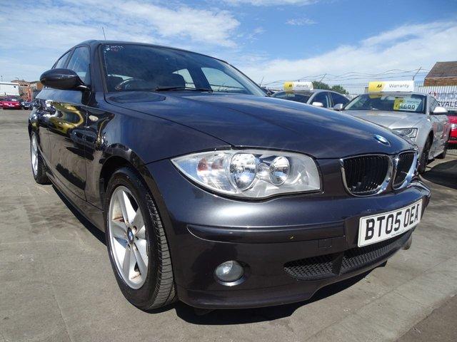 USED 2005 05 BMW 1 SERIES 2.0 120D SPORT 5d 161 BHP GOOD MILES