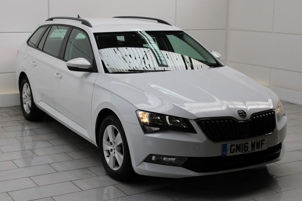 USED 2016 16 SKODA SUPERB 1.6 TDI S (start/stop)