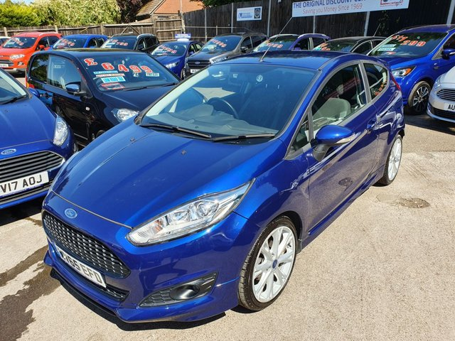 2015 65 FORD FIESTA 1.0 ZETEC S ECOBOOST (125PS) 3DR