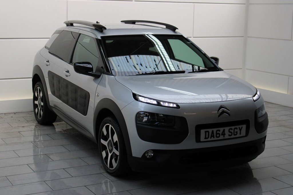 USED 2014 64 CITROEN C4 CACTUS 1.6 BlueHDi Flair (start/stop)[SAT NAV]