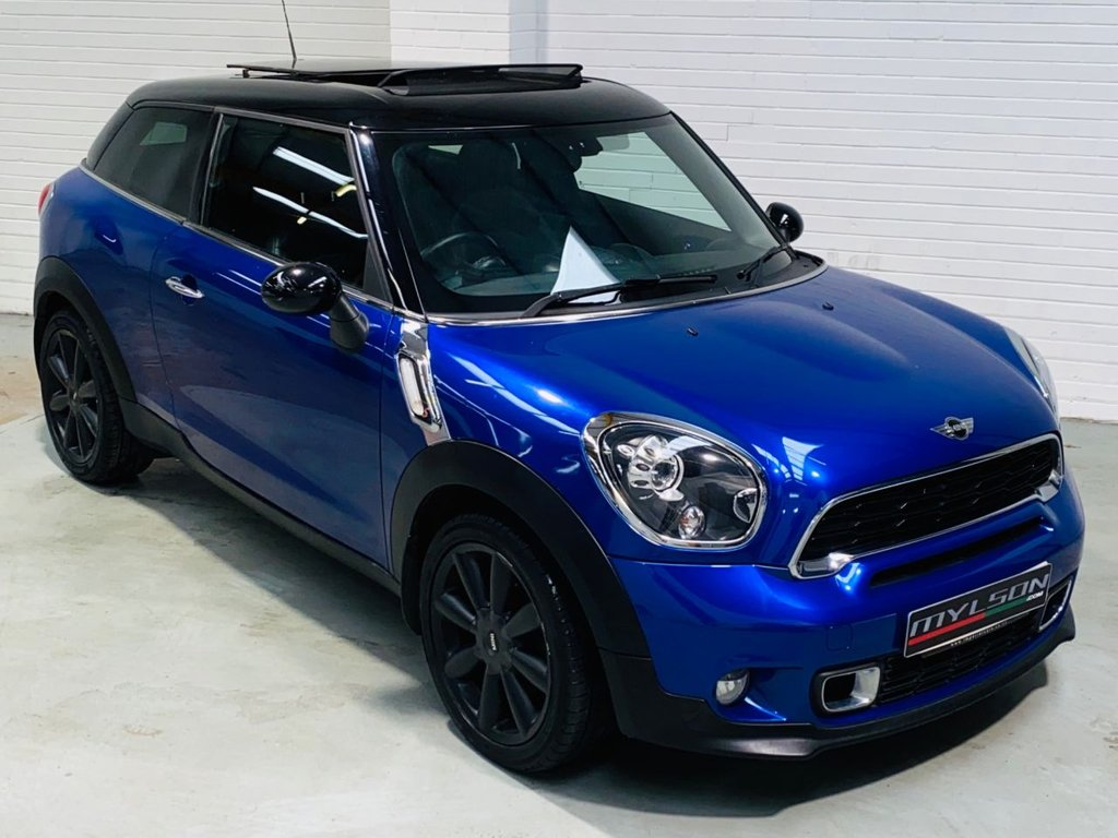 USED 2013 13 MINI MINI PACEMAN 2.0 COOPER SD 3d 143 BHP HUGE SPEC including Glass Roof, Heated Leather, Sat Nav