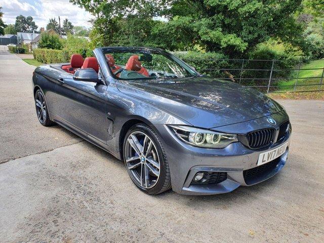2017 17 BMW 4 SERIES 3.0L 440I M SPORT 2d AUTO 322 BHP