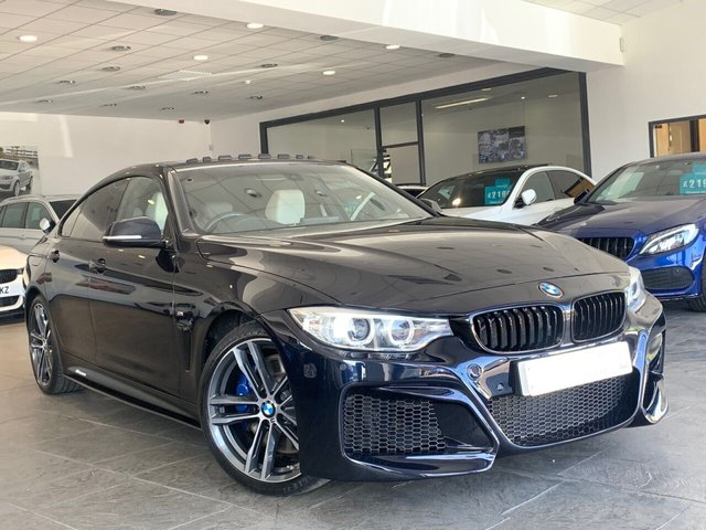 USED 2016 16 BMW 4 SERIES GRAN COUPE 3.0 440I M SPORT GRAN COUPE 4d 322 BHP BM PERFORMANCE STYLING+6.9%APR