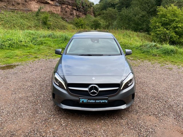 USED 2015 65 MERCEDES-BENZ A-CLASS 1.6 A 180 SPORT PREMIUM 5d 121 BHP FULL LEATHER