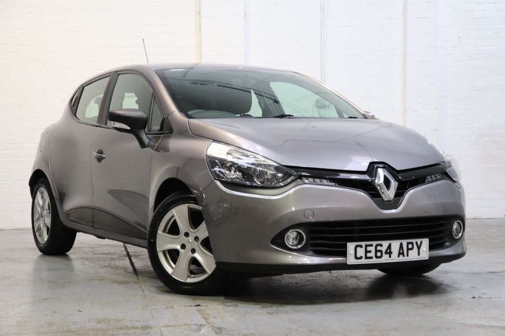 USED 2014 64 RENAULT CLIO 1.1 EXPRESSION PLUS 16V 5d 75 BHP 1 Owner + Cruise + Bluetooth + Fsh