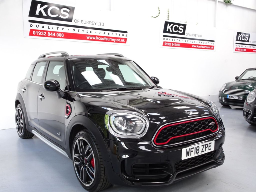 USED 2018 18 MINI COUNTRYMAN 2.0 JOHN COOPER WORKS ALL4 5d 228 BHP CHILI PACK - NAV PLUS PACK