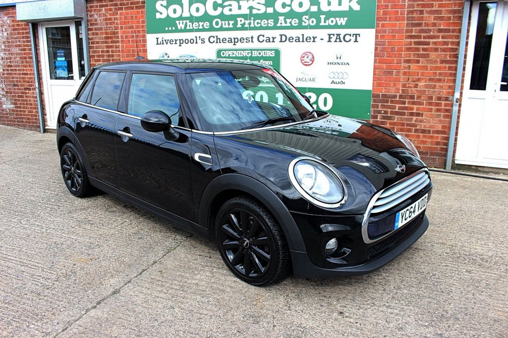 USED 2014 64 MINI HATCH COOPER 1.5 COOPER D 5d 114 BHP +ONE OWNER +SERVICED +SAT NAV.