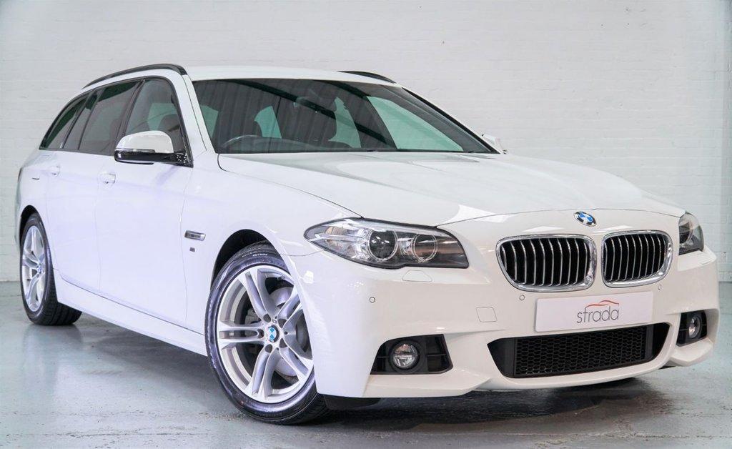 USED 2017 66 BMW 5 SERIES 2.0 520D M SPORT 4d 188 BHP