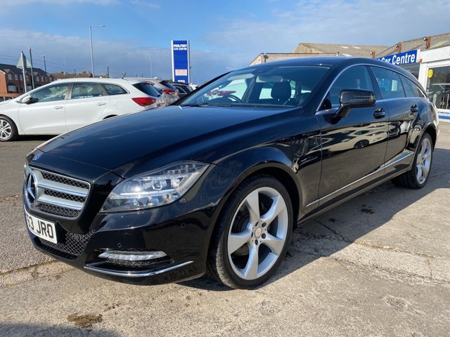 USED 2013 63 MERCEDES-BENZ CLS CLASS 2.1 CLS250 CDI BLUEEFFICIENCY 5d 202 BHP FULL LEATHER*NAV*CRUISE*BTOOTH*MFSW*PARKING SENSORS
