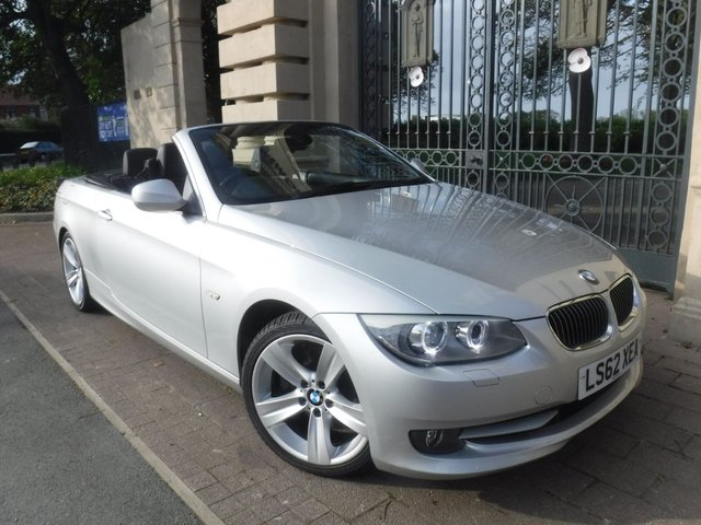 USED 2012 62 BMW 3 SERIES 3.0 330D SE 2d 242 BHP FULL LEATHER*REAR PS*CRUISE*ELECTRIC ROOF*SERVICE HIST
