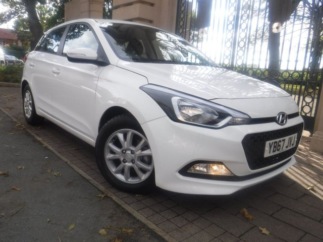 USED 2017 67 HYUNDAI I20 1.4 MPI SE 5d 99 BHP FINANCE ARRANGED**PART EXCHANGE WELCOME**BLUETOOTH*DAB*AUX*USB*CRUISE**VOICE COMMAND*CD*PARKING SENSORS*AC