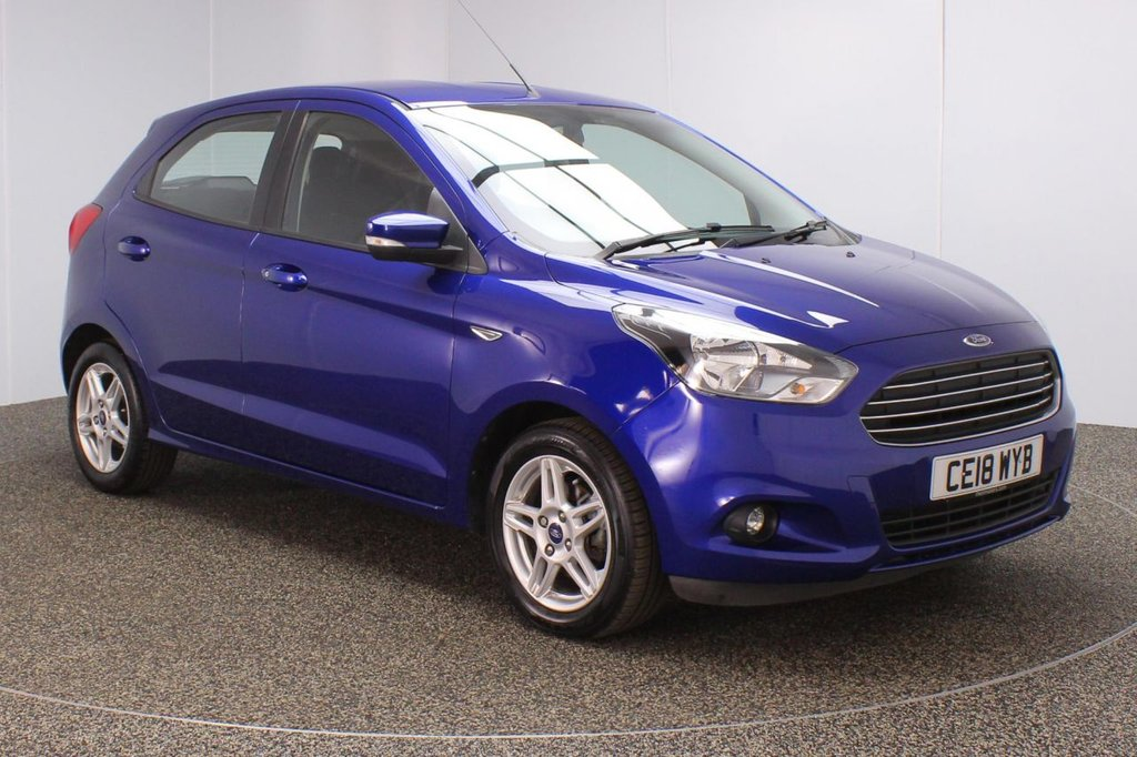 USED 2018 18 FORD KA+ 1.2 ZETEC 5DR 1 OWNER 84 BHP SERVICE HISTORY + BLUETOOTH + CRUISE CONTROL + MULTI FUNCTION WHEEL + AIR CONDITIONING + DAB RADIO + AUX/USB PORT + ELECTRIC WINDOWS + ELECTRIC/HEATED DOOR MIRRORS + 15 INCH ALLOY WHEELS