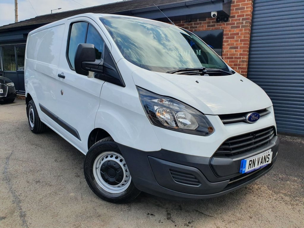 USED 2017 17 FORD TRANSIT CUSTOM 2.0 270 LR P/V 104 BHP L1 H1 *** ONE OWNER - LOW MILES ***