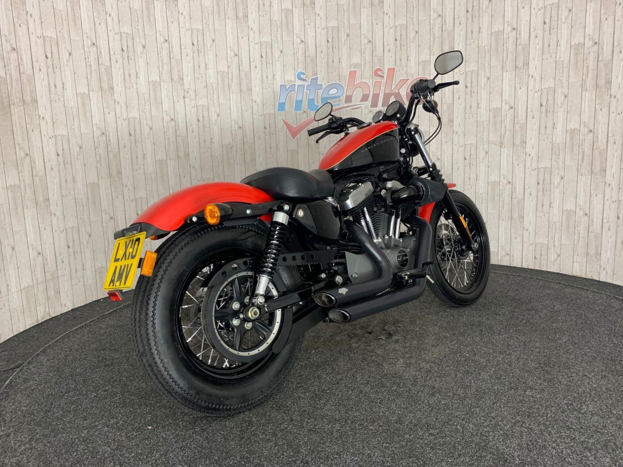 2010 Harley Davidson Sportster Xl 1200 Nightster