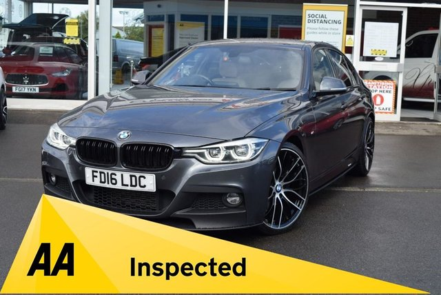 USED 2016 16 BMW 3 SERIES 3.0 330D M SPORT 4d 255 BHP FINANCE TODAY WITH NO DEPOSIT - SERVICE HISTORY
