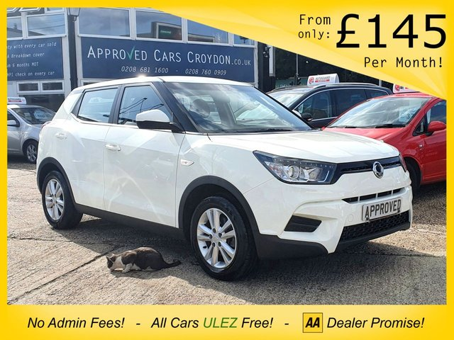 USED 2017 17 SSANGYONG TIVOLI 1.6 SE 5d 126 BHP