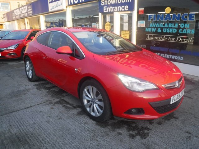 USED 2015 65 VAUXHALL ASTRA GTC 1.4 GTC SRI S/S 3d 138 BHP PART LEATHER*CRUISE*DAB*F+R PARKING SENSORS*ECO MODE*AC
