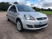 USED 2006 06 FORD FIESTA 1.2 STYLE CLIMATE 16V 3d 78 BHP