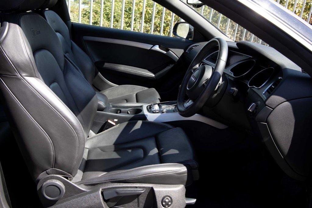 USED 2014 64 AUDI A5 2.0 TDI S LINE S/S 2d 177 BHP