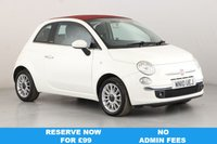 USED 2010 10 FIAT 500C 1.4 C LOUNGE 3d 99 BHP PART LEATHER | ALLOYS | AC |