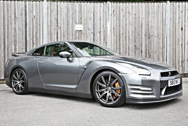 2012 12 NISSAN GT-R 3.8 TRACK EDITION 2d 542 BHP