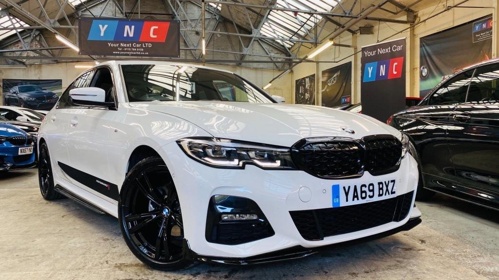 USED 2019 69 BMW 3 SERIES 2.0 320i M Sport Auto xDrive (s/s) 4dr PERFORMANCEKIT+INDVI19'SXDRIVE