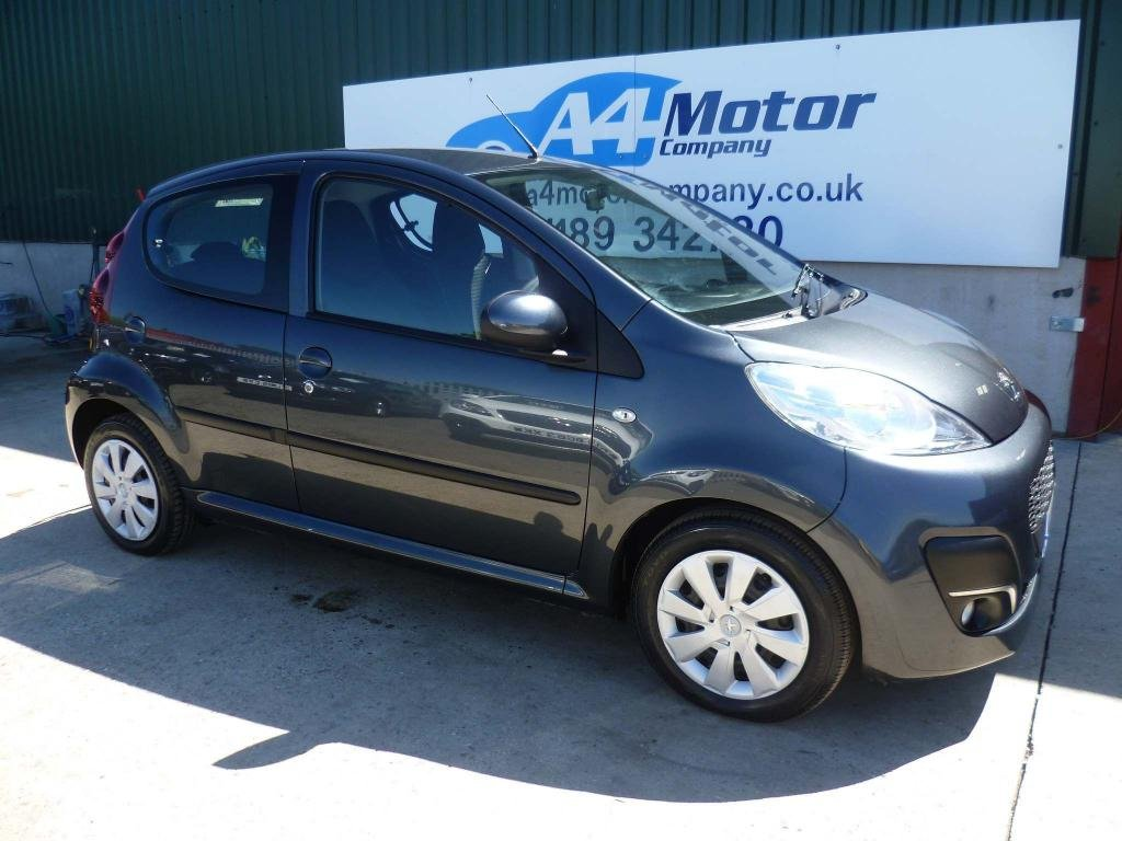 USED 2014 14 PEUGEOT 107 1.0 12v Active 5dr AIR CON, LOW ON TAX