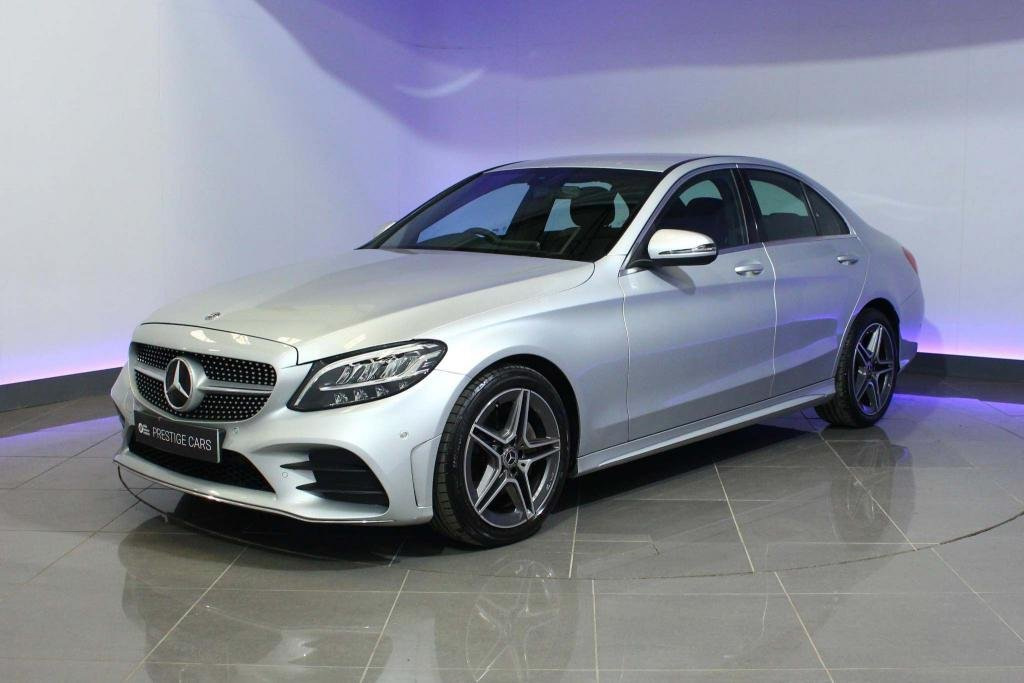 USED 2019 69 MERCEDES-BENZ C-CLASS 2.0 C220d AMG Line G-Tronic+ (s/s) 4dr CRUISE CONTROL - SAT NAV - DAB