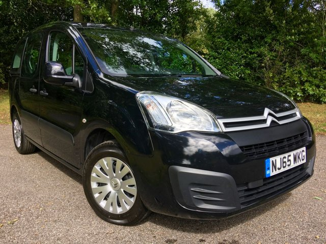 2015 65 CITROEN BERLINGO MULTISPACE 1.6 BLUEHDI FEEL 5d 98 BHP /No ULEZ charge due for this vehicle/1 LADY OWNER / ONLY 43,500 MILES /£30 ROAD TAX/ FULL CITROEN SERVICE HISTORY