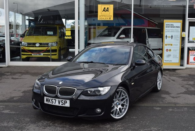 USED 2007 57 BMW 3 SERIES 325i M Sport 2dr Auto FINANCE TODAY WITH NO DEPOSIT - SERVICE HISTORY, SIX STAMPS