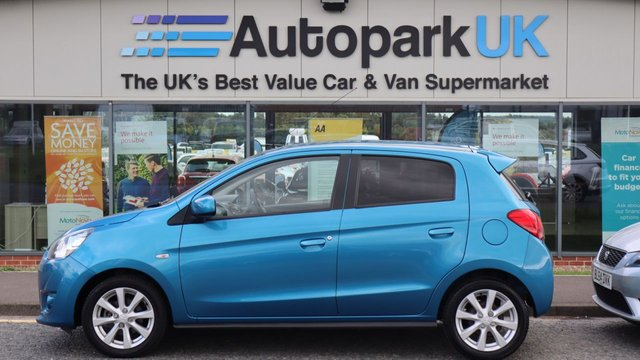 USED 2013 13 MITSUBISHI MIRAGE 1.2 3 5d 79 BHP LOW DEPOSIT OR NO DEPOSIT FINANCE AVAILABLE . COMES USABILITY INSPECTED WITH 30 DAYS USABILITY WARRANTY + LOW COST 12 MONTHS ESSENTIALS WARRANTY AVAILABLE FOR ONLY £199 .  WE'RE ALWAYS DRIVING DOWN PRICES .