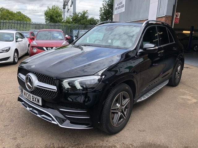 USED 2020 20 MERCEDES-BENZ GLE-CLASS 2.0 GLE 300 D 4MATIC AMG LINE PREMIUM 5d 242 BHP