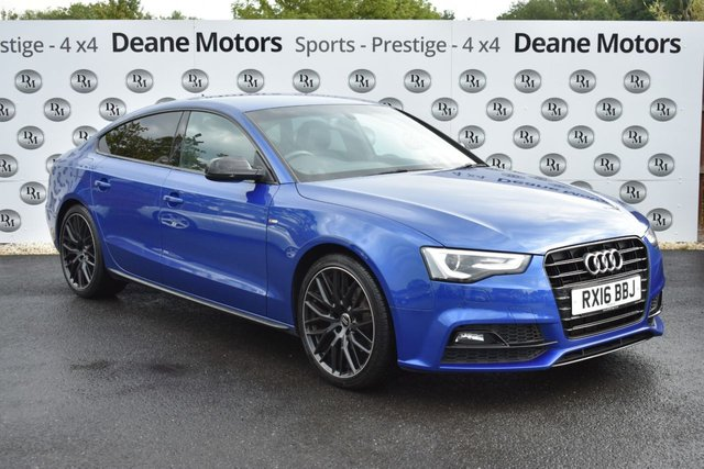 2016 16 AUDI A5 2.0 TDI BLACK EDITION PLUS 5d 187 BHP