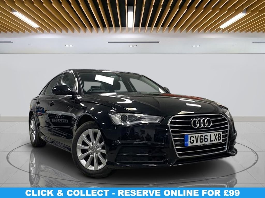 USED 2016 66 AUDI A6 2.0 TDI ULTRA SE EXECUTIVE 4d 188 BHP Alloy Wheels, Satellite Navigation, Leather Upholstery, Climate Control, Parking Sensor(s)