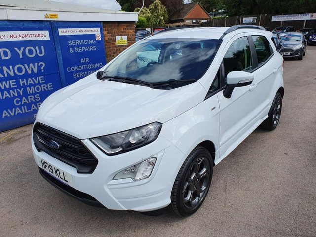 2019 19 FORD ECOSPORT 1.0 ST-LINE ECOBOOST AUTOMATIC 125 BHP NEW MODEL