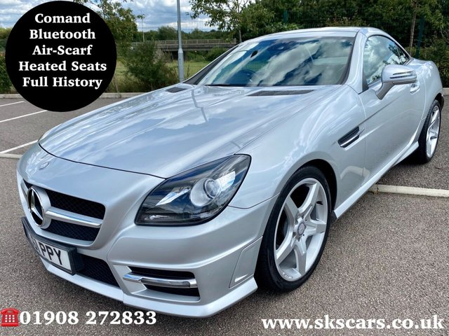 2011 61 MERCEDES-BENZ SLK 1.8 SLK200 BLUEEFFICIENCY AMG SPORT 2d 184 BHP