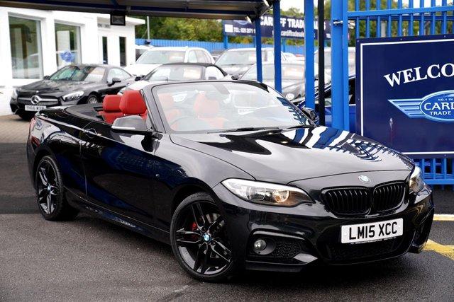 2015 15 BMW 2 SERIES 2.0 220D M SPORT 2d 188 BHP