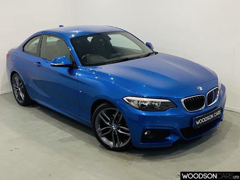 USED 2014 64 BMW 2 SERIES 2.0 218D M SPORT 2d 141 BHP Isofix / Bluetooth / Parking Sensors / Aux / USB