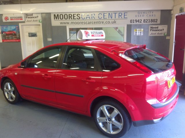 2007 07 FORD FOCUS 1.8 SPORT S LIMITED EDITION 5d 124 BHP