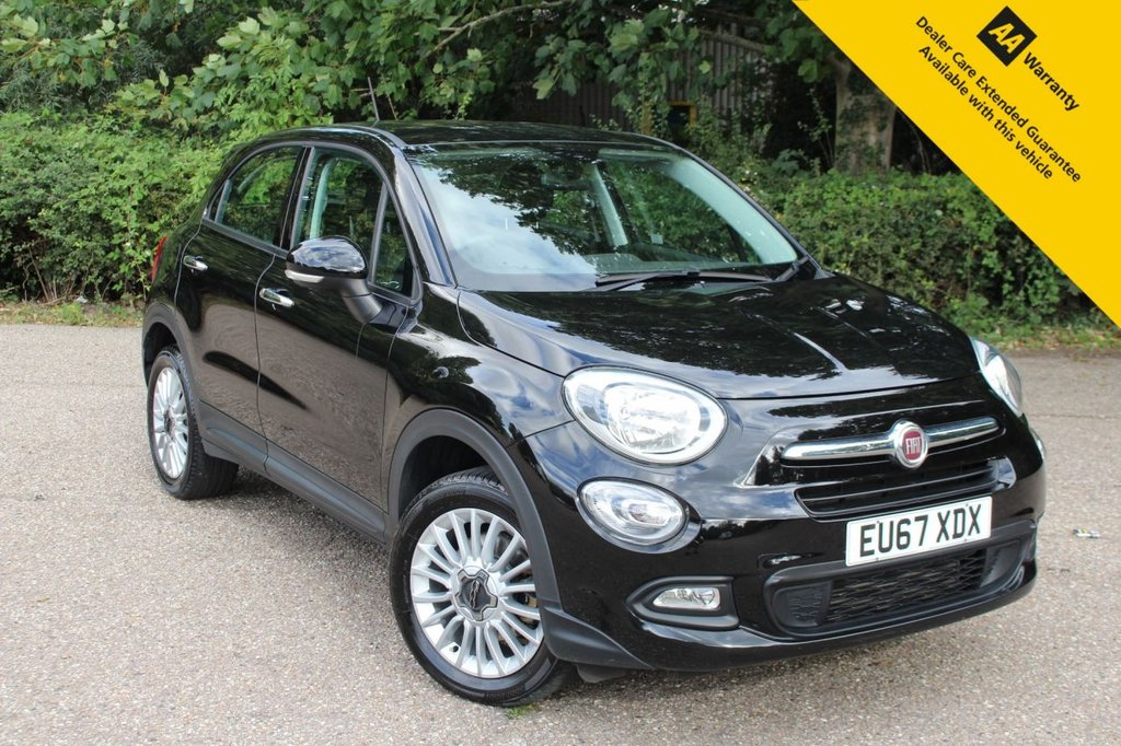 USED 2017 67 FIAT 500X 1.4 MULTIAIR POP STAR 5d 140 BHP ** 1 OWNER ** FULL FIAT SERVICE HISTORY ** BRAND NEW ADVISORY FREE MOT + SERVICE COMPLETED AUGUST 2020 ** REAR PARKING AID - SAT NAV - CLIMATE CONTROL - CRUISE CONTROL - BLUETOOTH - DAB RADIO - APPLE CAR PLAY / ANDROID AUTO ** ULEZ CHARGE EXEMPT ** LOW RATE £0 DEPOSIT FINANCE AVAILABLE **