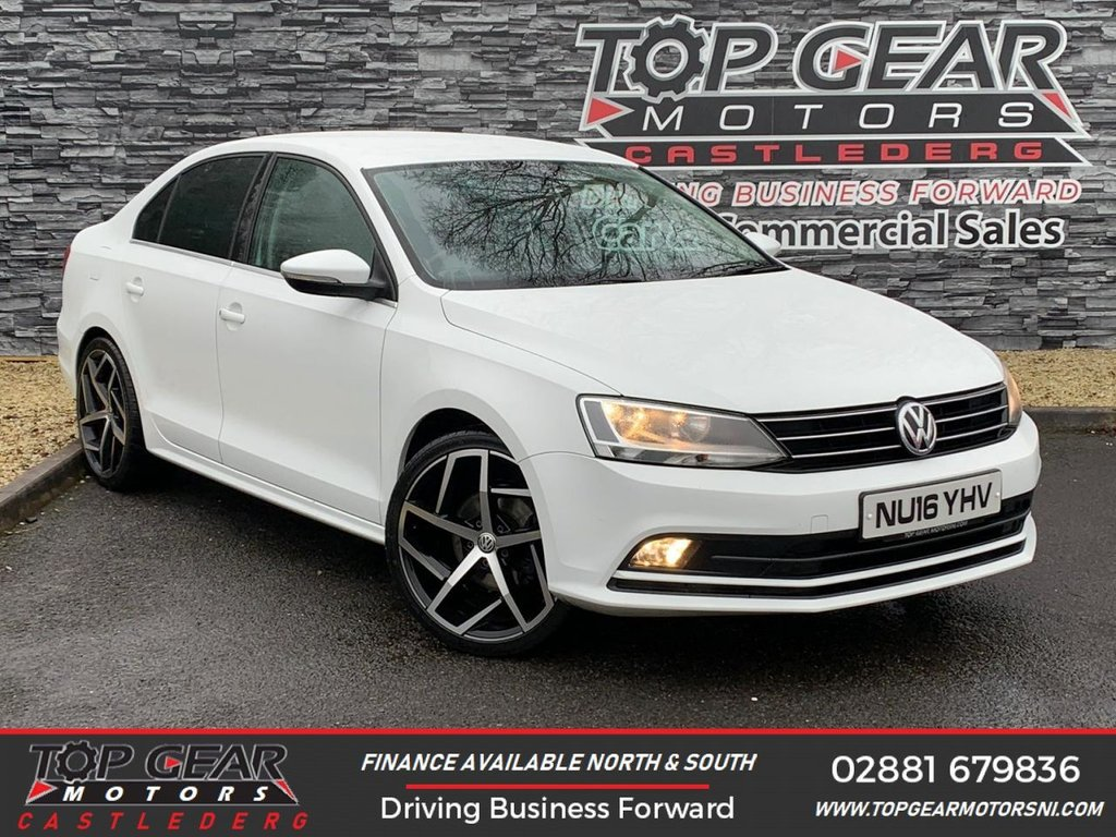 USED 2016 16 VOLKSWAGEN JETTA CR GT-LINE 2.0 TDI 150 BHP  **OVER 100 VEHICLES IN STOCK** ** GT 2.0 TDI 150 BHP ** LOW MILES ** FINANCE AVAILABLE **