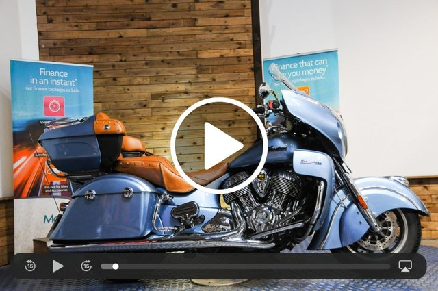 USED 2018 18 INDIAN MOTORCYCLE ROADMASTER 1811cc ROADMASTER - 1 Owner bike