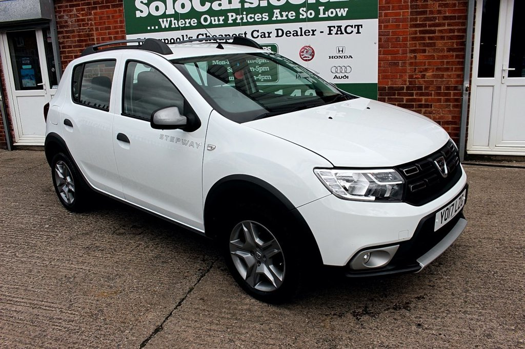 USED 2017 17 DACIA SANDERO 0.9 STEPWAY AMBIANCE TCE 5d 90 BHP +ONE OWNER +LOW MILEAGE.