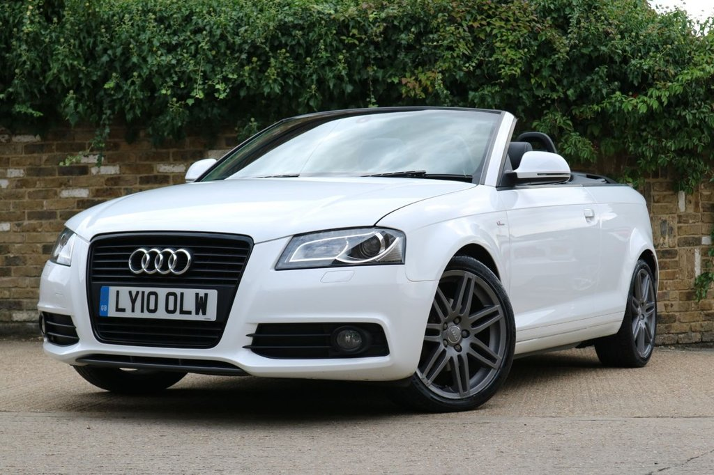 USED 2010 10 AUDI A3 1.8 TFSI S LINE SPECIAL EDITION 2d 158 BHP