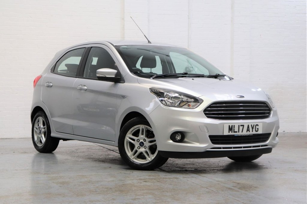 USED 2017 17 FORD KA+ 1.2 ZETEC 5d 84 BHP 1 owner+ Parking Aid+ Dab+ Fsh
